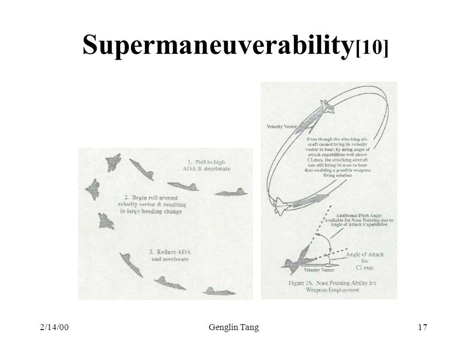 Supermaneuverability[10]